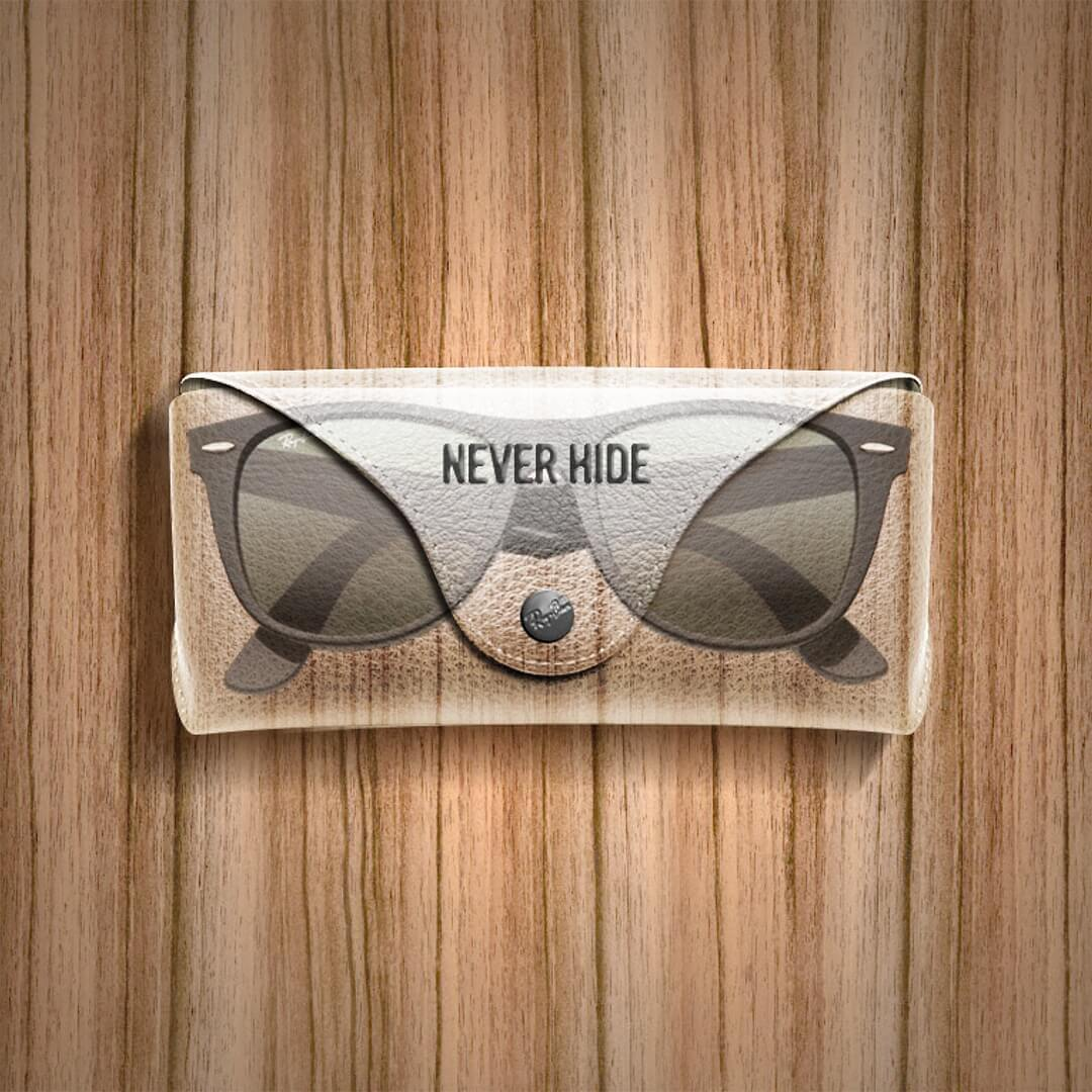 Ray-ban never hide merch